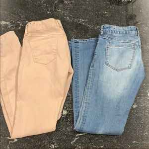 Two Pairs of EXPRESS jeans.
